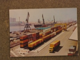 BARCELONA CONTAINER PORT - RENFE CARD - Cargos