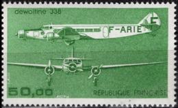 FRANCE Poste Aérienne  60 ** MNH Avion Trimoteur Dewoitine 338 Plane Flugzeug (faciale 50 F = 7,62 €) - Posta Aerea