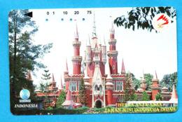 INDONESIA  Magnetic Phonecard - Indonesië