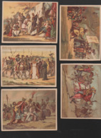 Chromos AIGUEBELLE(? Non Indiqué)  Lot De 5 Chromos  HISTOIRE  (PPP20795) - Aiguebelle