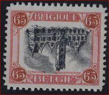 """Nr. 182A - DRUKFOUT """" OMGEKEERD MIDDENSTUK  Mooie Vervalsing Van Deze ZELDZAME Zegel ! - Variétés (Catalogue COB)"""