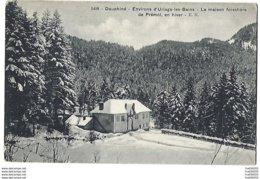 PAS COURANTE - 38 - Environs D'Uriage-les-Bains - PRÉMOL - La Maison Forestière En Hiver - Frankrijk
