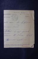 FRANCE / ALGÉRIE - Télégramme De Oran Pour La France En 1895 - L 44693 - 1877-1920: Période Semi Moderne