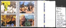 NB - [838281]TB//**/Mnh-RD Congo 2001 - Education, Danse Industrie (mine), Bd4, Musique, Danse, SNC - République Démocratique Du Congo (1997 -...)