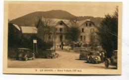 CPA  67 / LE DONON    Hotel Velléda   A  VOIR  !!!!!!! - Autres Communes