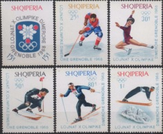 --- 1967 Albanie Y. 1057 / 1062** M. 1233 / 1238** - Albania