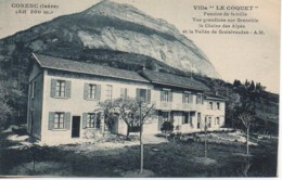 "38 CORENC  Villa ""Le Coquet"" - Francia"