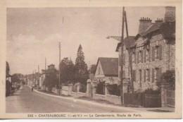 35 CHATEAUBOURG  La Gendarmerie  Route De Paris - Frankrijk