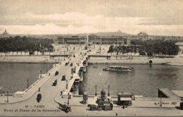 75 PARIS PONT ET PLACE DE LA CONCORDE - Ponti