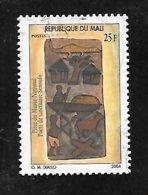 TIMBRE OBLITERE DU MALI DE 2004 N° MICHEL 2595 Millesime 2004 - Mali (1959-...)