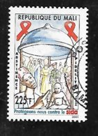 TIMBRE OBLITERE DU MALI DE 2002 N° MICHEL 2587 - Mali (1959-...)