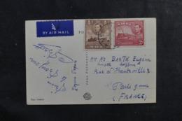 MALTE - Carte Postale De Valletta Pour La France Par Avion, Affranchissement Plaisant - L 44708 - Malta (...-1964)