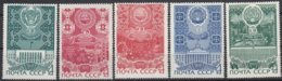 USSR - Michel - 1971 - Nr 3845 + 3856 + 3888 + 3918/19 - MNH** - Neufs