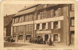BITCHE - Pension,café Restaurant De La Porte De Strasbourg (carte Vendue En L'état). - Bitche