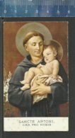 GEBED TOT DE HEILIGE ANTONIUS - SANCTE ANTONI ORA PRO NOBIS - PROKUUR DER FRANCISKAANSE MISSIES GENT - Religion & Esotericism