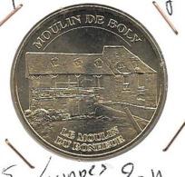 Jeton Touristique 65 Lourdes Moulin De Boly N°1 2012 - 2012