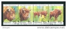 POLAND 1996 MICHEL No: 3629-3632 USED - 1944-.... Republik