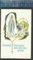 ONBEVLEKT ONTVANGENE WEES ONZE VOORSPRAAK - OLV LOURDES - GEBED VAN Z. H. DE PAUS - Religione & Esoterismo