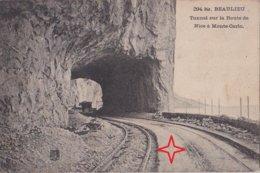 BEAULIEU-sur-MER. Tunnel Route De Nice à Monte-Carlo - (Tramway En Construction). - Beaulieu-sur-Mer