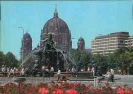Mitte-Berlin Neptunbrunnen (Begasbrunnen), Dom 1987 - Mitte