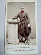 CDV Costumes Des Pays-Bas - La Hollande Septentrionale - MARKEN - Par A. Jager - BE - Photographs