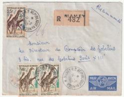 LETTRE Recommandée - NIGER - NIAMEY Le 14/05/1960 - - Niger (1960-...)