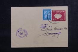 BANGLADESH - Entier Postal + Complément De Farashganj Pour Chittagonj - L 44726 - Bangladesh