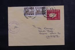 BANGLADESH - Entier Postal + Complément De Farashganj Pour Chittagonj - L 44727 - Bangladesh