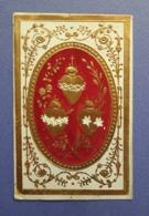 IMAGE PIEUSE ..ED. VILLEMUR..... LES COEURS DE JESUS ..MARIE ..ET  JOSEPH....HOLY CARD....SANTINI - Images Religieuses