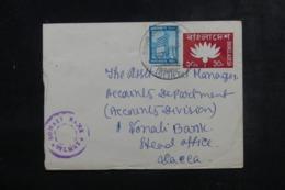BANGLADESH - Entier Postal + Complément De Sylhet Pour Dacca - L 44728 - Bangladesh