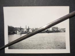 Nantes - Photo Originale - Bombardement Portuaire - Bateaux Détruits  - B.E - - Guerre, Militaire