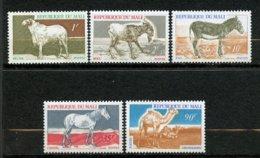 Mali, Yvert 124/128**, MNH - Mali (1959-...)