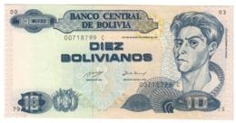 BOLIVIA10BOLIVIANOS28/11/1986P210UNC1993 - Series C.CV. - Bolivië