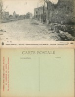 [503863]B/TB//-France  - (51) Marne, Souain, Route De Sommepy, Architectures, Guerre 1914-18 - Altri Comuni