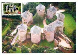 France  2019 CM : Château De Lassay - Pays De La Loire. Obliteration Du 1er Jour 12/09/2019 Paris. - Cartes-Maximum