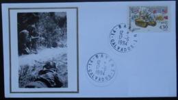 B021 Cachet Temporaire Bavent 14 Calvados Anniversaire De La Libération 17 Juin 1994 - Storia Postale