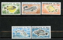 Mali, Yvert 236/240**, MNH - Mali (1959-...)