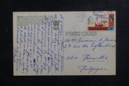 BAHAMAS - Affranchissement Plaisant Sur Carte Postale Pour La Belgique En 1973 - L 44731 - Bahamas (1973-...)