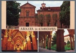 °°° Cartolina - Carmagnola Abazia Di Casanova Viaggiata °°° - Churches