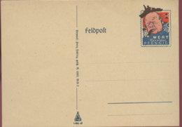 DR Feldpostkarte-Spottkarte Ungel. - Deutschland