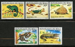 Mali, Yvert 252/256**, MNH - Mali (1959-...)