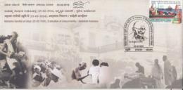 India  2019  Eradication Of Untouchability  Mahatma Gandhi  Udupi  Special Cover  # 23517   D Inde  Indien - Mahatma Gandhi