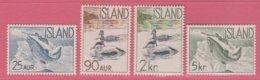 1959 ** (sans Charn., MNH, Postfrish)  Yv  294/7Mi  335/8FA  369/72 - Ungebraucht