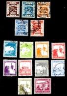 PALESTINA BRITANNICA - USATI ANNI '20 - '40 - Palestina
