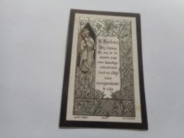 D.P.-VOORZIJDE HEILIGE BARBARA-MARIA-C.BARTELEN °ESSCHEN 11-9-66+BORGERHOUT 6-4-1885 - Religione & Esoterismo