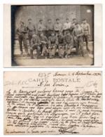 (Régiments) 181, Carte Photo, 506 RCC Besançon 1920 - Regimientos