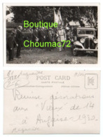 1250, Orne, Carte Photo Marcel Grosse à Laigle, Auguaise, Remise Décorations Aux Vieux De 14 à Augaise En 1930, Très Bon - Frankrijk
