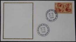 B065 Cachet Temporaire Bennwihr Mittelwihr 68 Haut Rhin Anniversaire De La Libération 27 Décembre 1994 - Commemorative Postmarks