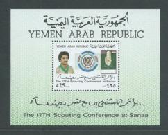 Yemen 1988 Scout Conference Miniature Sheet MNH - Yemen