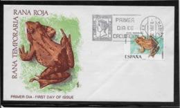 Thème Animaux - Grenouille - Espagne - Enveloppe - Grenouilles